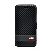 Чехол BMW M-Collection Booktype для iPhone 6 / 6s - Carbon Black
