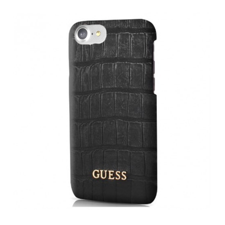 Накладка Guess Croco Hard PU для iPhone 7 / 8 - Black