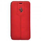 Чехол Ferrari Montecarlo Booktype для iPhone 6 Plus / 6s Plus - Red