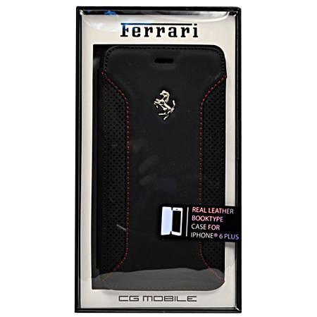 Чехол Ferrari F12 Booktype для iPhone 6 Plus / 6s Plus - Black