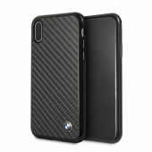 Накладка BMW Signature Real Carbon Hard для iPhone X / XS - Black