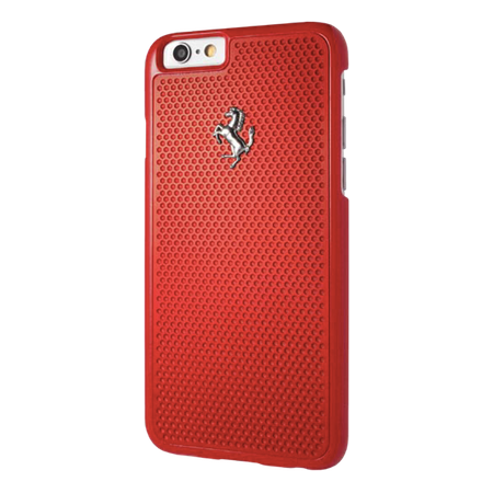 Накладка Ferrari Aluminium Plate Hard для iPhone 6 / 6s - Red