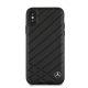 Накладка Mercedes Pattern ll Hard Leather для iPhone X / XS - Black