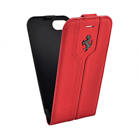 Чехол Ferrari Flip Montecarlo для iPhone 8 / 7 - Red