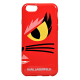 Накладка Karl Lagerfeld Monster Choupette Hard для iPhone 6 / 6s - Red