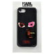 Накладка Karl Lagerfeld Choupette in Love 2 Hard для iPhone 7 - Black