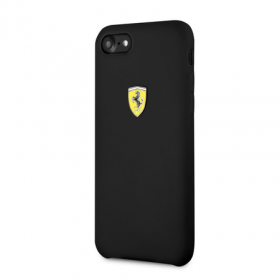 Накладка Ferrari On-Track SF Silicone Case Hard для iPhone 8 / 7 - Black
