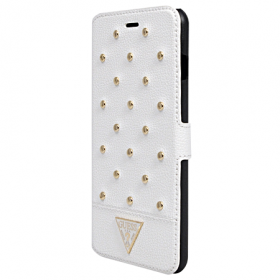 Чехол Guess Tessi Booktype для iPhone 6 Plus / 6s Plus - White