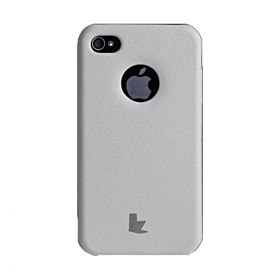 Накладка Jisoncase Slim Fit Case для iPhone 4/4s - White