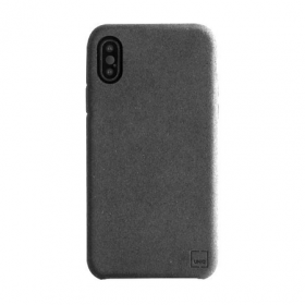 Накладка Uniq Feltro для iPhone X - Black
