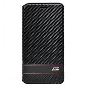 Чехол BMW M-Collection Booktype для iPhone 6 Plus / 6s Plus - Carbon Black